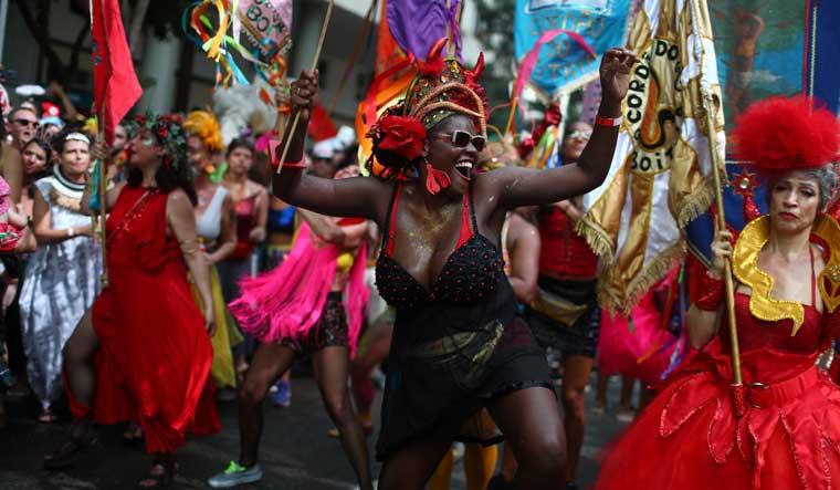 Rio carnival reuters