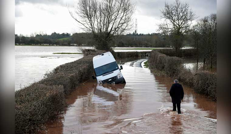 Storm Dennis: Flood warnings continue as UK reels from rains