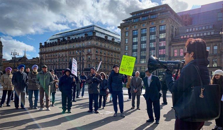 Anti-CAA protest at Hamburg