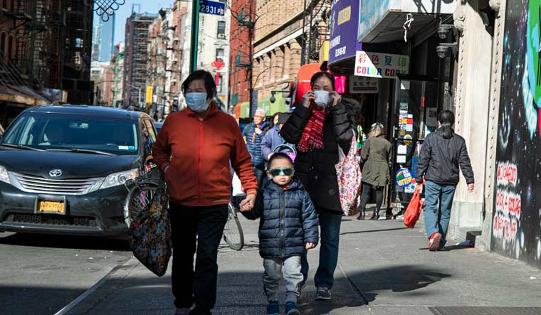 Virus Outbreak New York