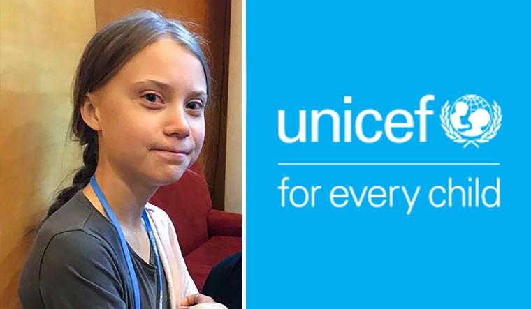 Greta-Thunberg-UNICEF-PTI-logo