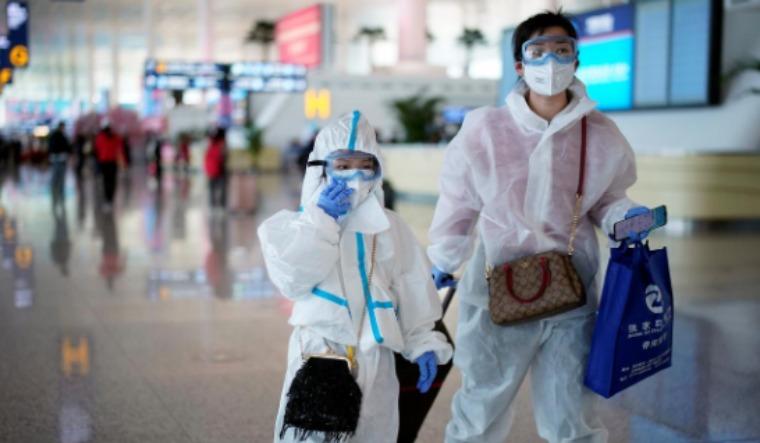 wuhan airport reuters
