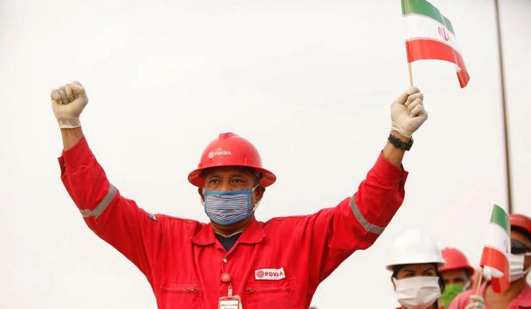 iran oil tanker crew | Reuters