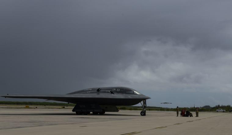 B-2 bombers diego garcia