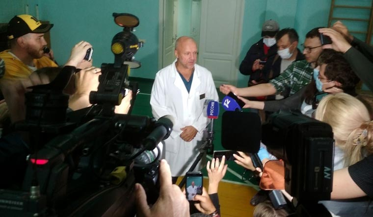 German doctors gain access to Navalny, in coma after ...