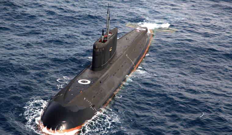 china kilo submarine