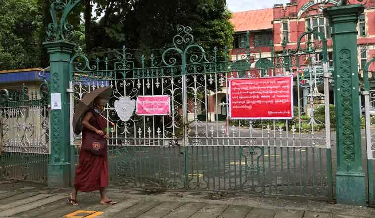 HEALTH-CORONAVIRUS/MYANMAR