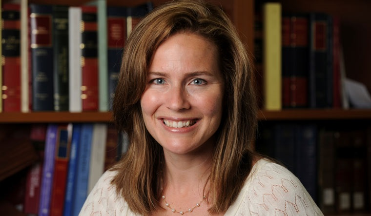US Court of Appeals for the Seventh Circuit Judge Amy Coney Barrett | Reuters