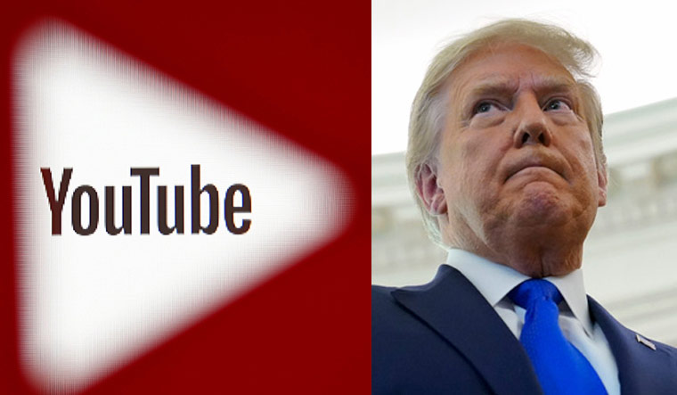 Trump's channel is temporarily prevented from uploading new videos or live streams for at least seven days, although the channel remains live, YouTube said.