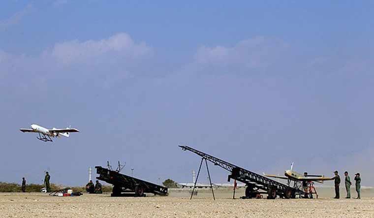iran-drone-Mohajer-2N-fars