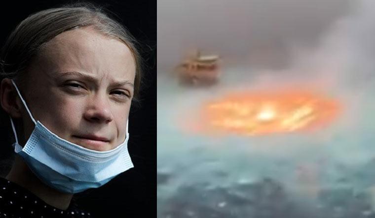 greta-thunberg-gulf-mexico-oil-spill-fire-twitter