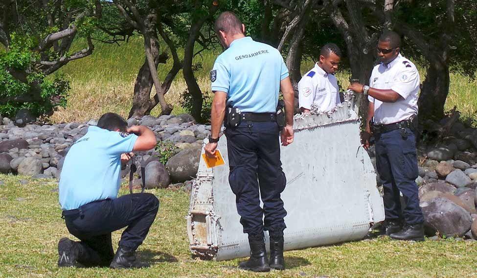 MH370 debris brought to Australia