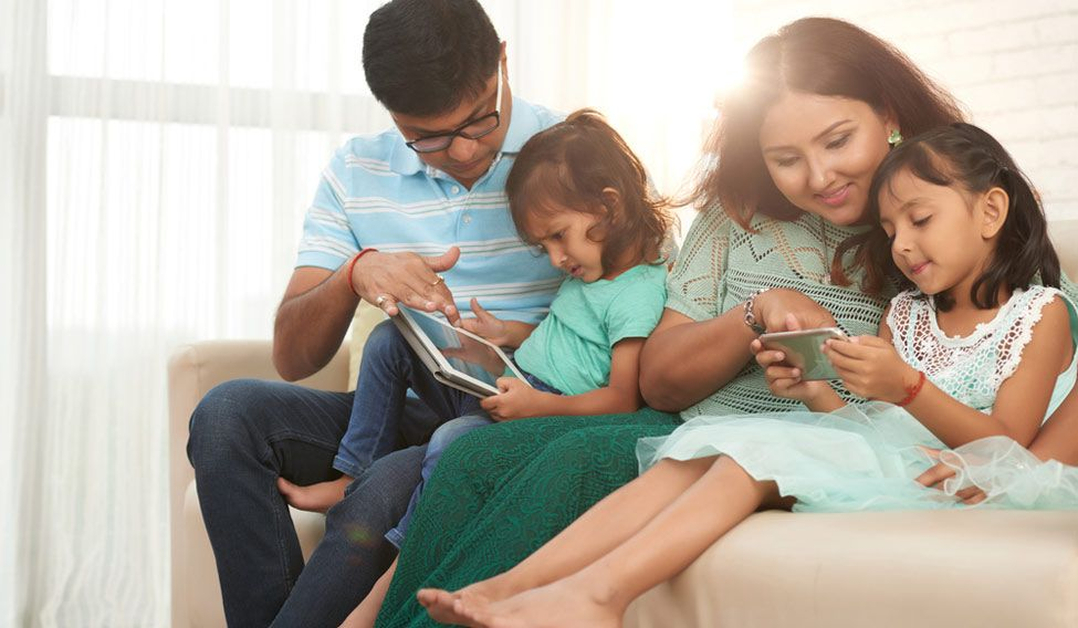 family-smartphone