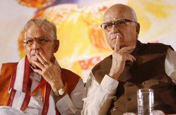 Old guard woes: Murli Manohar Joshi and L.K. Advani | PTI