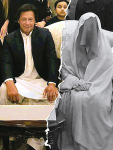 Imran Khan and Bushra Maneka | Imaging: Job P.K.