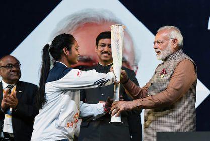 New spirit: Inauguration of Khelo India School Games at New Delhi   PTI