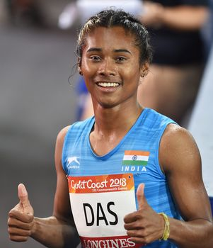 Bright future: Hima Das | PTI