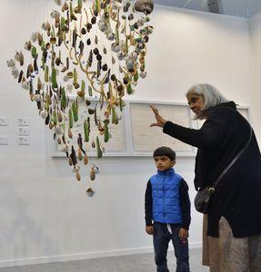 Young at art: A snapshot from the India Art Fair | Sanjay Ahlawat
