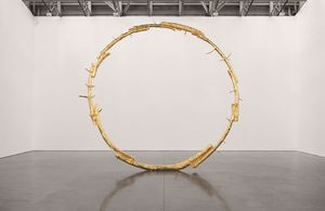 The Sun by Ugo Rondinone at unlimited 2019 | courtesy: Art Basel