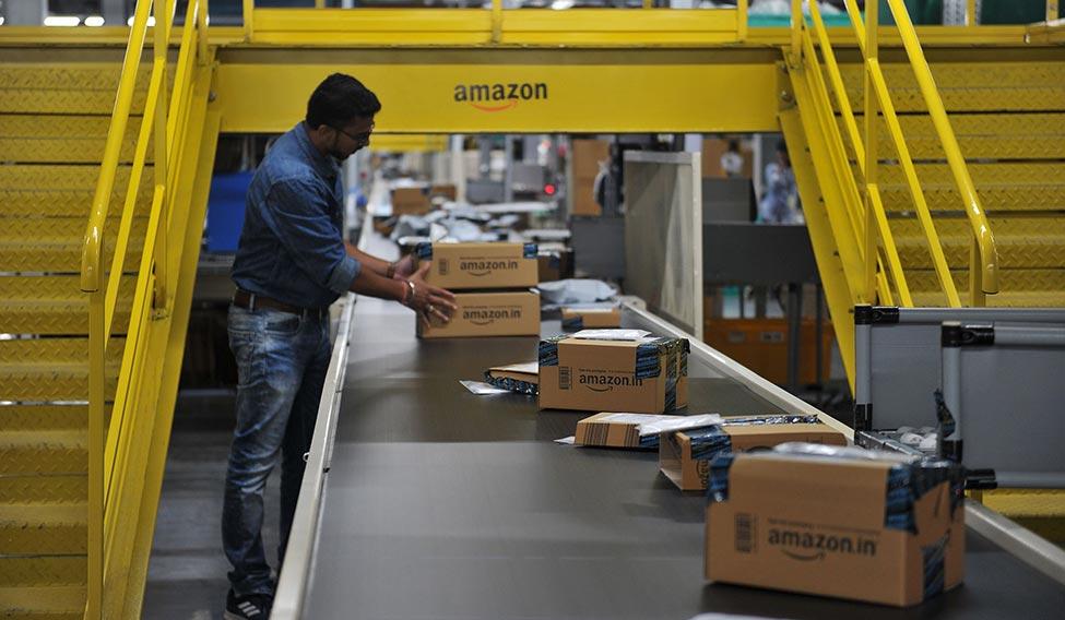 INDIA-ECONOMY-AMAZON