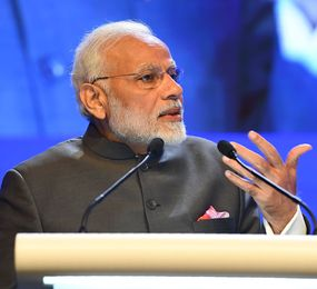 Making a point: Modi at the Shangri-La Dialogue | AFP