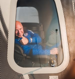 Photo courtesy: Blue Origin