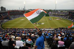 Flying high: The semi-final between India and New Zealand in Manchester | AFP