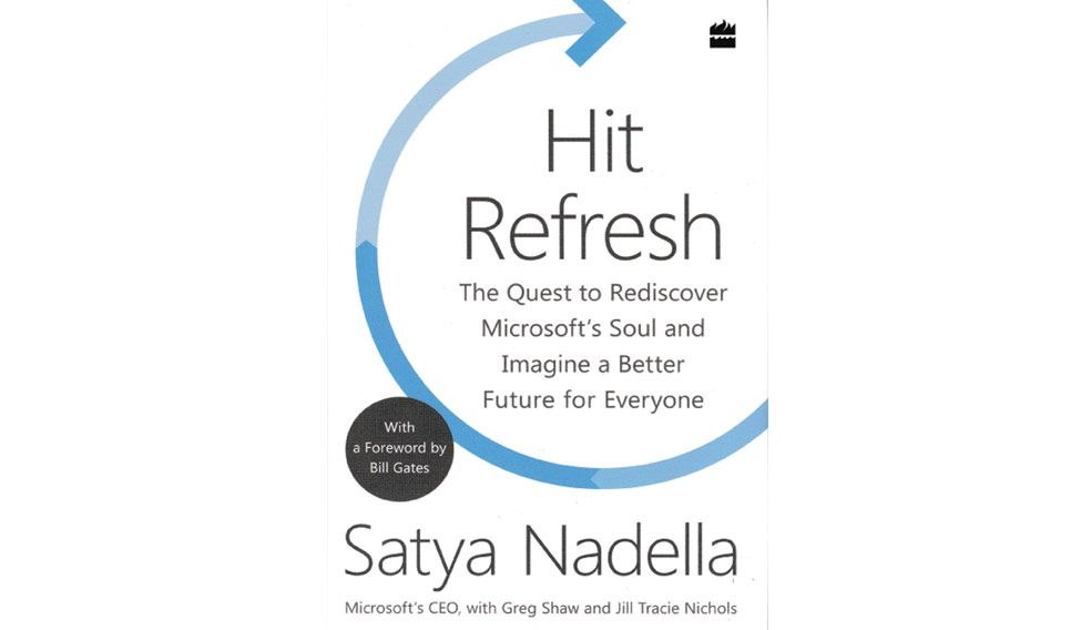 'Hit Refresh' to transform your life