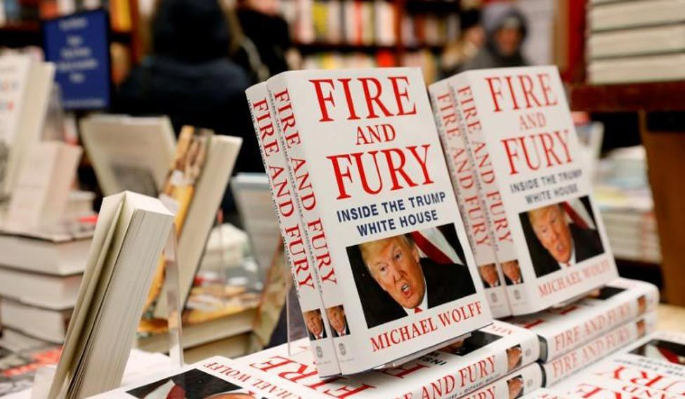 'Fire and Fury' is Being Adapted as a Series