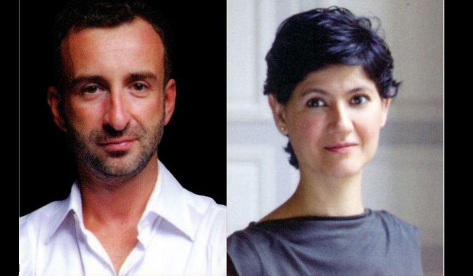 Misha Pinkhasov and Rachna Joshi Nair