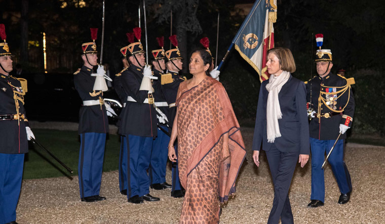 Sitharaman in Paris