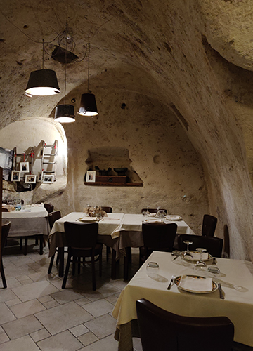 La Talpa, a cave restaurant in Matera | Nivedita Jayaram Pawar