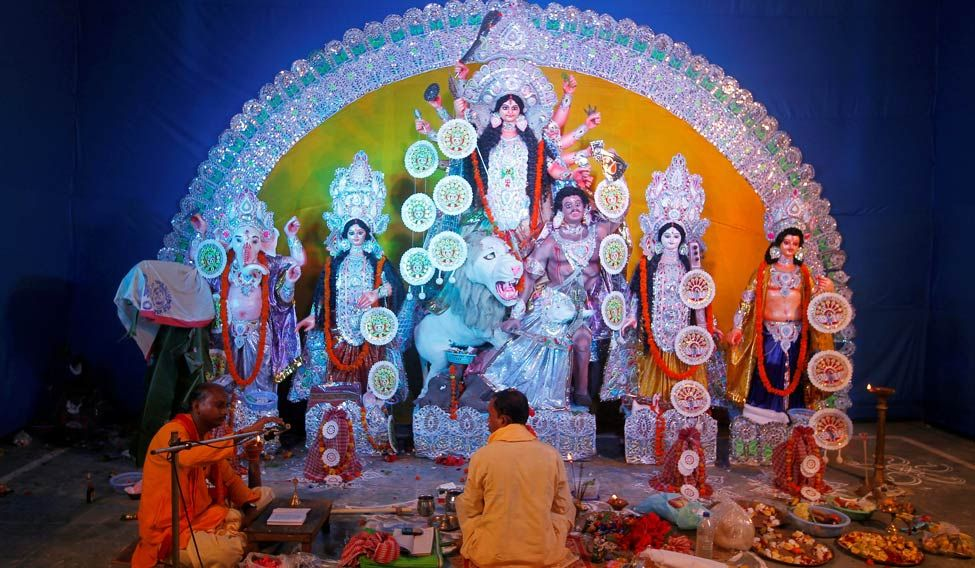 The godmakers of  Kumartuli
