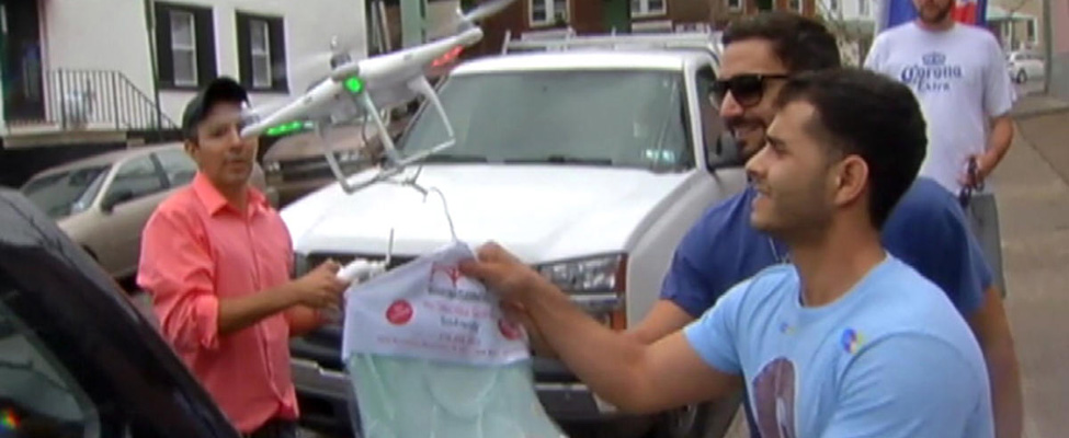 laundry-drone