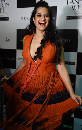 Sona Mohapatra adds desi twist to AIFW