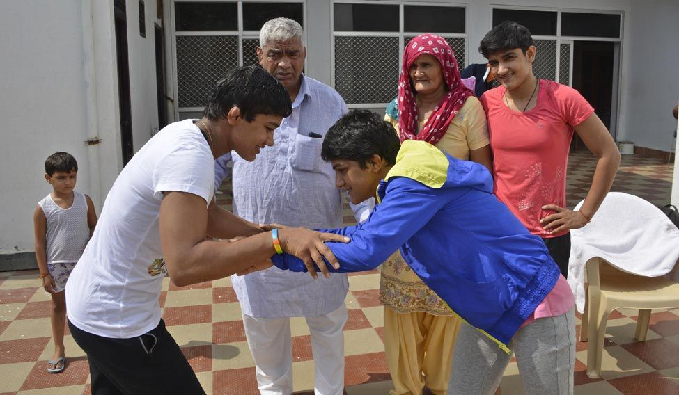 Mahavir Singh Phogat—the real hero