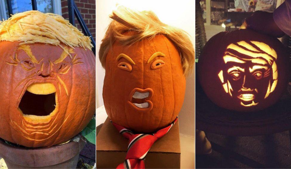 Trumpkins spice up Halloween