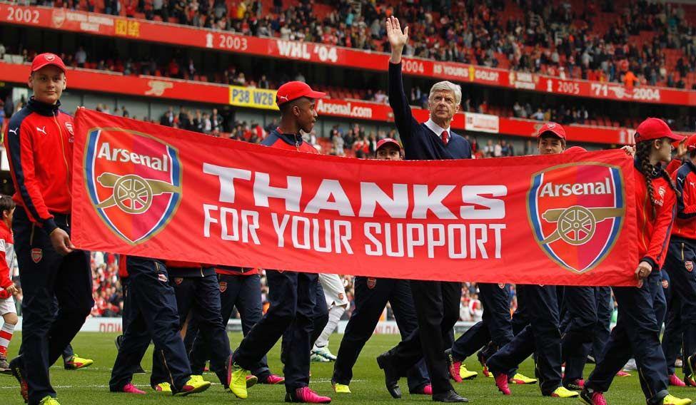 Arsene Wenger: Twenty and counting
