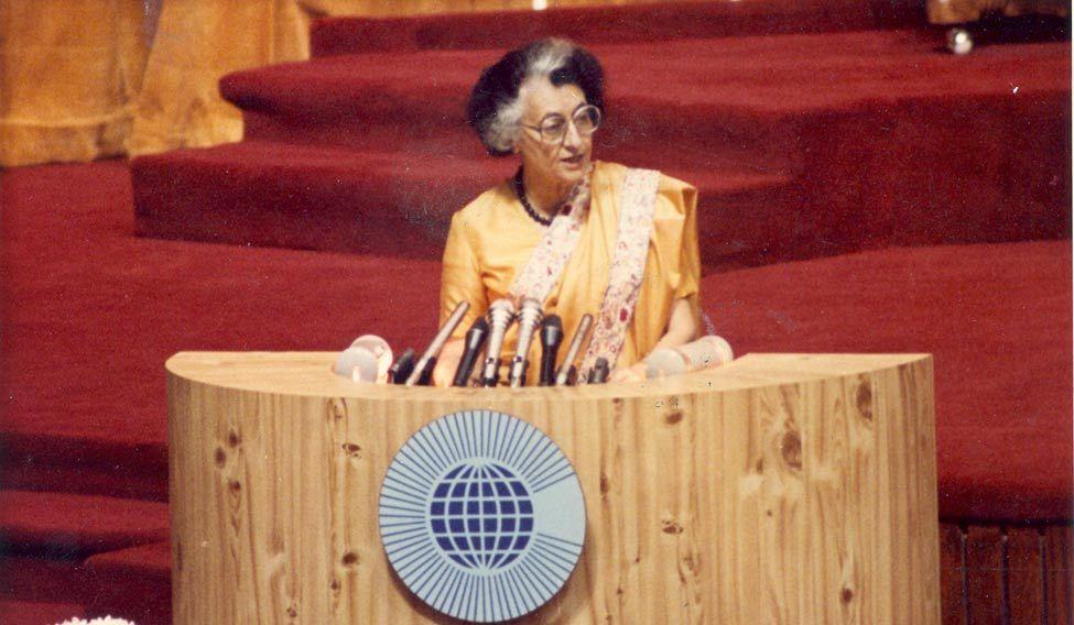 Indira Gandhi—the iron-willed stateswoman